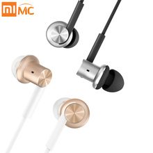 Original Xiaomi Earphones Circle Metal Hifi Hybrid Earpods with Mic for Phone Iphone IOS Android MP3 MP4 3.5mm Universal(China)