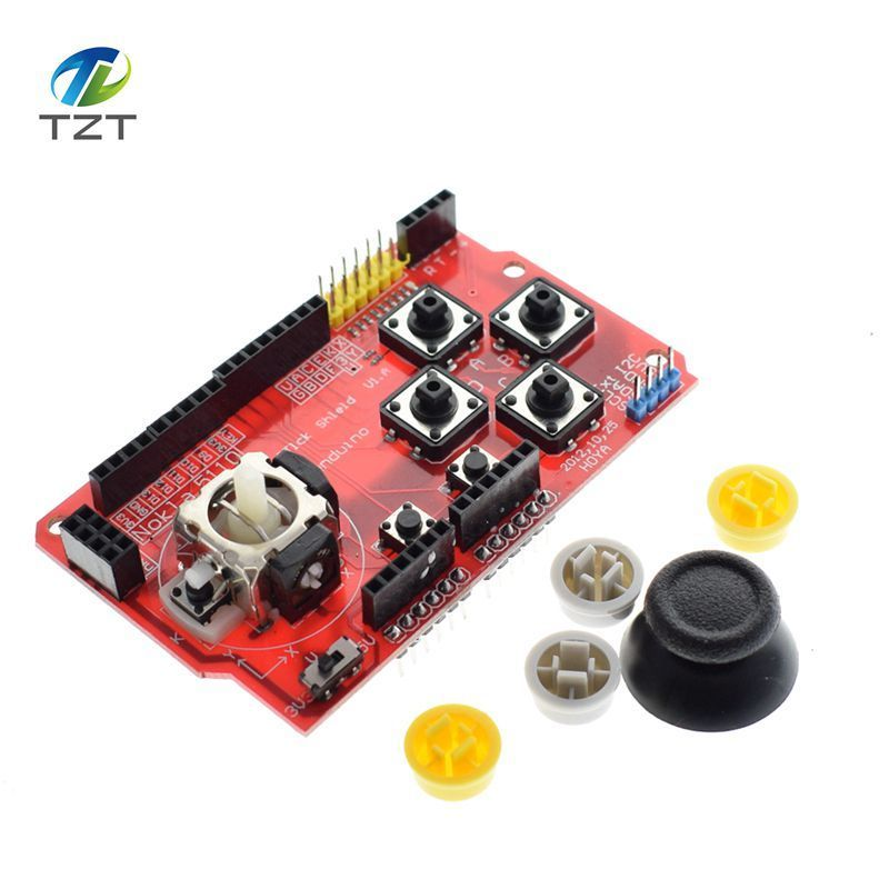 Joystick Shield for Arduino Expansion Board Analog Keyboard and Mouse Function Joystick Shield V1.2 5
