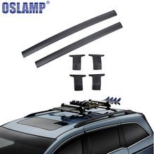 Oslamp Roof Rack Cross Bar 132LBS 60KG Cross Xbars For Honda Odyssey 2011-2017 Travel Luggage Carrier Baggage Rack Holder(China)