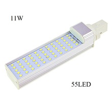 Lampada G23 G24 E27 5W 7W 9W 11W 13W Led Light Horizontal Plug Lamps 2835 SMD Corn Lamp High AC 85V-265V Cool/Warm white - Shenzhen Hua Top Technology Co., Ltd store
