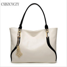 2017 Women Totes Bags Fashion Leisure Luxury Leather Famous Brands Design Women Handbag Shoulder bag High Quality Bolsos White