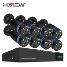 Buy H.View 16CH Surveillance System 8 1080P Outdoor Security Camera 16CH CCTV DVR Kit Video Surveillance iPhone Android Remote View for $321.29 in AliExpress store