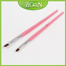 New Nail Art 2013 Nail Brush UV Gel Brush Supplier UV Gel Art Brushes #6 Free shipping