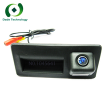 Night vision waterproof CCD HD color car Rear view camera Trunk handle camera For AUDI A3 A4 A5 S4 S5 Q5 A6L car parking camera