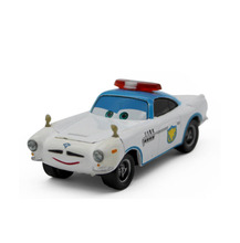 Brand New Original Pixar Cars 2 Toys Security Guard Finn MC Missile Diecast Toy Car For Children Gift  Racing Car Model
