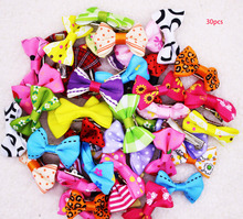 10/20/30pcs New 20 Styles Pet Dog Grooming Accessories Products Hand-made Small Dog Hair Bows Cat Hair Clips Boutique Wholesale(China)