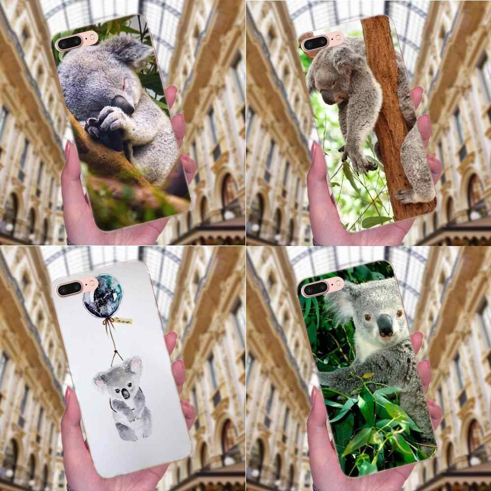 Чехол для телефона Animal The Koala Portrait для Apple iPhone X XS Max XR 4 4S 5 5C 5S SE 6 6S 7 8 Plus Diy