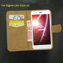 6 Colors Super!! Digma Linx C500 3G Case Flip Fashion Leather Luxury Exclusive Protective 100% Special Phone Cover+Tracking(China)