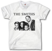 THE SMITHS T-SHIRT S - XXL WILL SMITH FAMILY MUSIC HIPSTER TUMBLR SWAG GIFT T Shirts Casual Brand Clothing Cotton(China)
