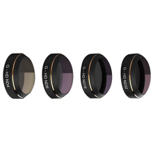 Top Deals 4 in 1 RC Quadcopter Lens Filter Accessories ND4 8 16 32 HD Filter Set for DJI MAVIC Pro Camera Lens UV Circular Pol