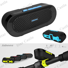 New Jabees BI IPX4 Wireless Bluetooth Speaker Stereo Portable Waterproof Boombox Mini Subwoofer with Built-In Bicycle Mount