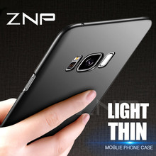 Buy ZNP Slim Hard Phone Case Samsung Galaxy S8 S9 Plus Note 8 Luxury Ultra Thin Cover Cases Samsung S7 Edge S6 Edge S8 Case for $1.44 in AliExpress store