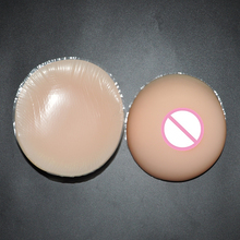 Buy 600g/pair B cup Crossdresser Drag Queen Transgender Silicone Breast Forms Fake Boobs False Breasts Artificial Breast