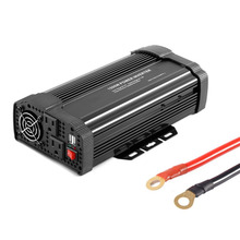 New 1500W/1000W/500W/300W/400W Car Power Inverter DC12V to AC110V Solar Inverter Modified Sine Wave Power Converter Adapter Hot(China)