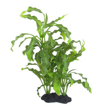 "Big Aquarium Plants Fish Pet 15.7"" Height Plastic Manmade Underwater Green Plants(China)"