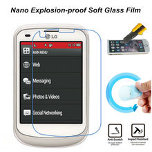 Ultra Clear Nano Explosion-proof Soft Glass Screen Protector Film for LG Aspire TM LN280 Phone Film