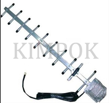 High gain 2.4G direction Yagi antenna 1200Mhz 13dbi, with 3 meters cable included, 2.4GHz wireless transceiver antenna
