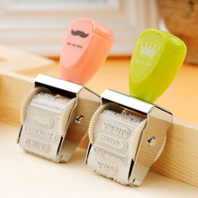1pcs Creative Vintage Flower Story  Roller Stamp Decoration Stamp Gift Fun DIY Stamp Badge Holder Accessories(China)