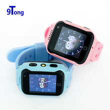 New Arrival 1.44' Touch Screen Kids GPS Watch with Camera Lighting Smart Watch Phone SOS Call GPS Location Finder for Child b5