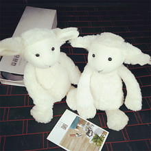 Super Cute Bunny Sheep Plush Toys Baby Kids Sleeping Comfort Soft Stuffed Dolls Gift 30cm
