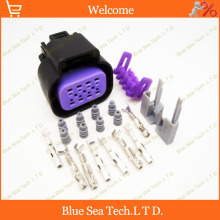 Sample,2 sets 8 Pin/way auto Connectivity for DELPHI,Car waterproof Electrical head lamp plug for Toyota,buick,VW,Honda etc.