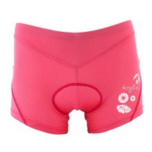 Women Outdoor Cycling Underwear 3D Sponge Pad Short Pants Quick-dry camping outdoor sports Cycling Shorts