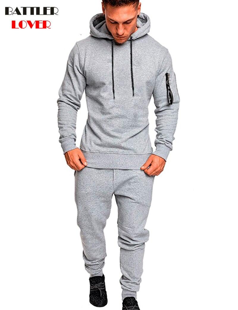 Pullovers Hoodies Men Autumn Hooded Hoodies Mens Sweatshirts Sweatpants Hip Hops Males Casual Hombre Pants Hoody Tracksuit Sets