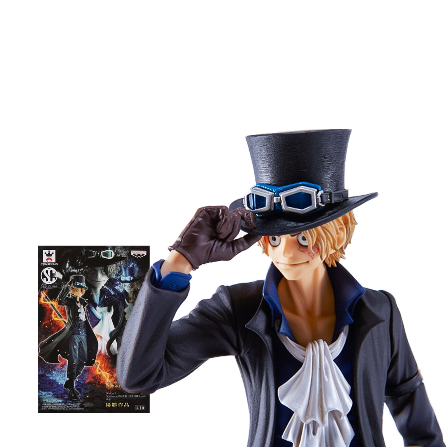 Chanycore Anime ONE PIECE SCultures BIG Top of war NEW WORLD Revolutionary Army PVC Action Figures Sabo collect model toys<br><br>Aliexpress