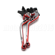 MIX Color Adjustable Motorcycle Brake Clutch Lever Handle For MOTO GUZZI CALIFORNIA Custom Touring Classic 2014-2017 2015 2016