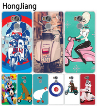 HongJiang vespa scooter Cover phone Case for Xiaomi redmi 4 1 1s 2 3 3s pro note 4 4X 4A 5A(China)