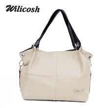 wilicosh Women Handbag Special Offer PU Leather bags women messenger bag Splice grafting Vintage Shoulder Crossbody Bags VK321