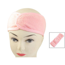 Newest Pink Spa Bath Shower Make Up Wash Face Cosmetic Headband Hair Band