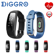 Buy ID107 Plus Smartband Heart Rate Monitor Wristband GPS IP67 Bluetooth Fitness tracker Bracelet IP67 Smart Band Android iOS for $24.99 in AliExpress store