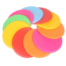 Flying Disk Frisbee UFO Kids Outdoor Toys Flying Saucer Disc Educational for Children Beach Frisbee Training Soft Toy Sports(China)