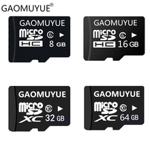 GAOMUYUE Real capacity Memory card & micro sd card 16/32/64/128GB Class10 tf cards for cell phones tablet mini sd cards G2(China)