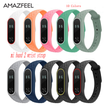 Band Xiaomi Mi 2 Band Bracelet Strap Miband 2 Colorful Strap Wristband Replacement Smart Band Accessories mi band 2 Silicone