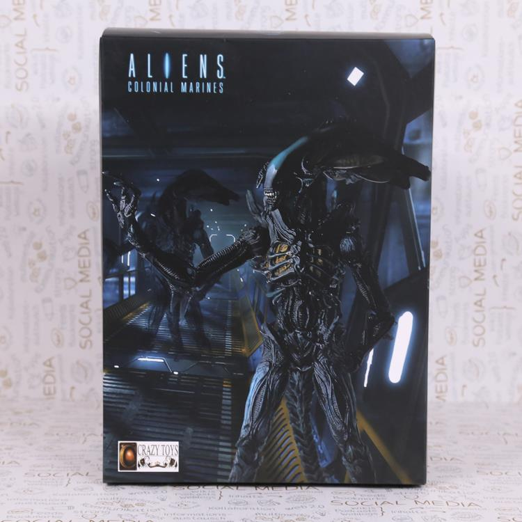 Crazy Toys Aliens Colonial Marines PVC Action Figure Collectible Model Toy 23cm MVF330<br><br>Aliexpress