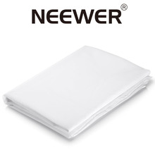 Neewer 2 Yardx60 Inch/1.8Mx1.5M Nylon Silk White Seamless Diffusion Fabric for Photography Softbox Light Tent/Lighting Modifier