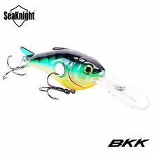 SeaKnight SK003 Crankbait 1PC 55mm 10g Deep Diving 1.8-3.9M Artificial Hard Bait Floating Fishing Lure Wobblers 3D Eyes BKK Hook(China)