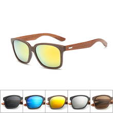Ren wooden Handmade Sunglasses luxury eyewear Vintage classic women men Original Wooden Sun Glasses oculos de sol masculino