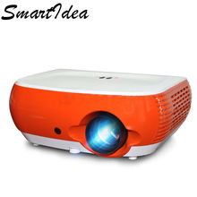 2017 New Arrive SmartIdea W1 portable home theater projector, cheaper price proyector high quailty beamer HDMI USB VGA AV SD(China)