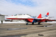 Mig 29 s Airport Aircraft Fabr Silk Poster Print Home Decoration B0916-79