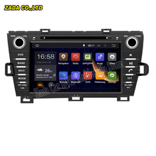 NAVITOPIA 8inch Android 5.1/Android 6.0 Octa Core 2GB RAM 32GB ROM Car Radio GPS for TOYOTA PRIUS left driving 2009- DVD player