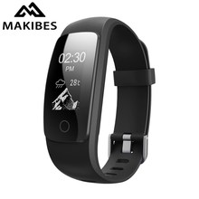 Makibes ID107 Plus HR Smart Band Bluetooth 4.0 Answer Call Smart Bracelet Heart Rate Sleep Monitor multi sports 5 displays