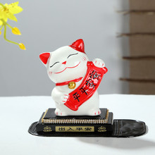 [manufacturers] wholesale cat car decoration peace Cat Bone China porcelain crystal block