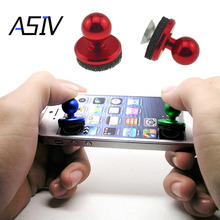 ASIV Mini Funny Arcade Game Stick Joystick Joypad for iPhone iPad for Android Touch Tablets Screen Mobile Phone Game Rocker(China)