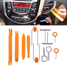 Car Stereo Installation Kits Car Radio Removal Tool Car Radio Panel Door Clip Panel Trim Dash Audio Removal Russia Warehouse(China)