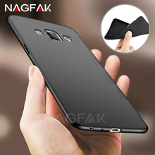 NAGFAK Soft TPU Matte Fashion Case For Samsung Galaxy A5 A3 A7 A510 Case Silicon Ultra Thin For Samsung A520 A3 A7 Phone Cases(China)