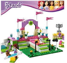 Girl's Friends Series Pet Show Building Brick Toy Compatible With Lego