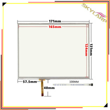 Original New 8 inch 4 wire Resistive Touch Screen Panel 171mm*131mm touch screen digitizer panel left line free shipping(China)